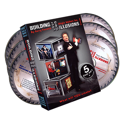 BUILDING YOUR OWN ILLUSIONS--6 DVD SET