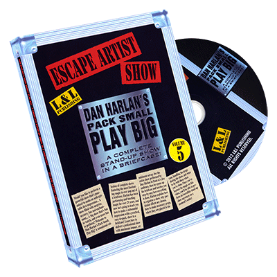 PACK SMALL PLAY BIG VOL. 5--ESCAPE ARTIST SHOW