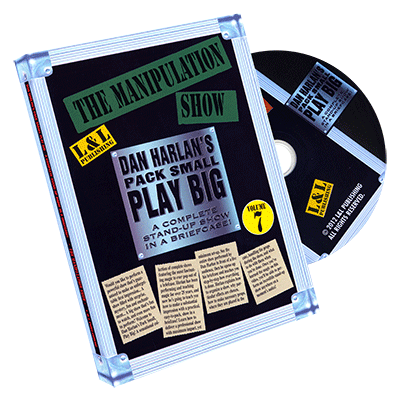 PACK SMALL PLAY BIG VOL. 7--THE MANIPULATION SHOW