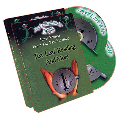 TEA LEAF READING AND MORE--2 DVD SET