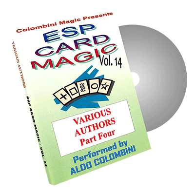 ESP CARD MAGIC VOL. 14--VARIOUS AUTHORS, PART 4