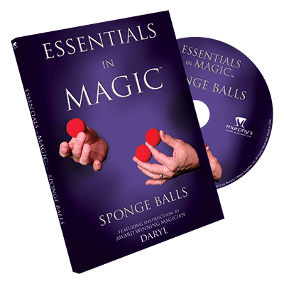 ESSENTIALS IN MAGIC--SPONGE BALLS