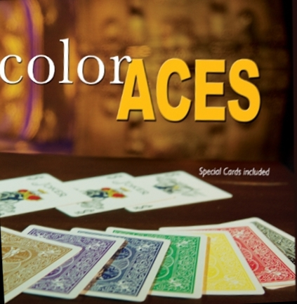 COLOR ACES W/CARDS