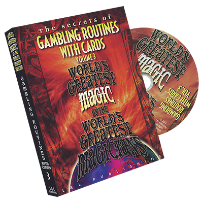 WORLD'S GREATEST MAGIC--GAMBLING ROUTINES WITH CARDS VOL. 3