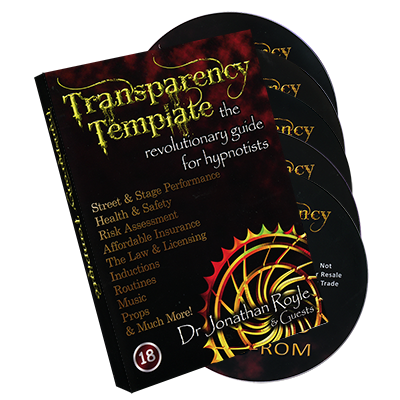 TRANSPARENCY TEMPLATE--5 DISC SET