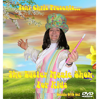 EASTER MAGIC SHOW FOR KIDS--2 DVD SET