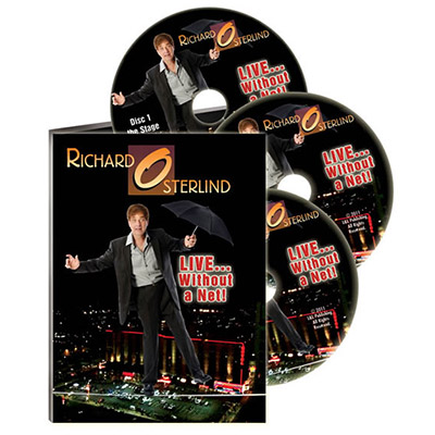 LIVE WITHOUT A NET--3 DVD SET