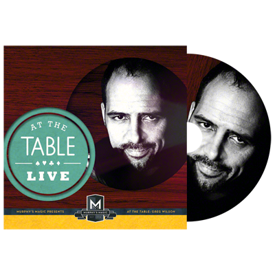 AT THE TABLE LIVE LECTURE--GREG WILSON