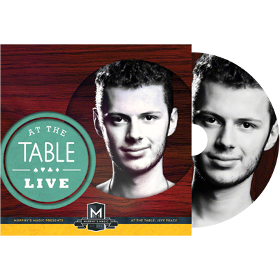 AT THE TABLE LIVE LECTURE--JEFF PRACE