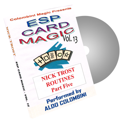 ESP CARD MAGIC VOL. 13--NICK TROST ROUTINES, PART 5