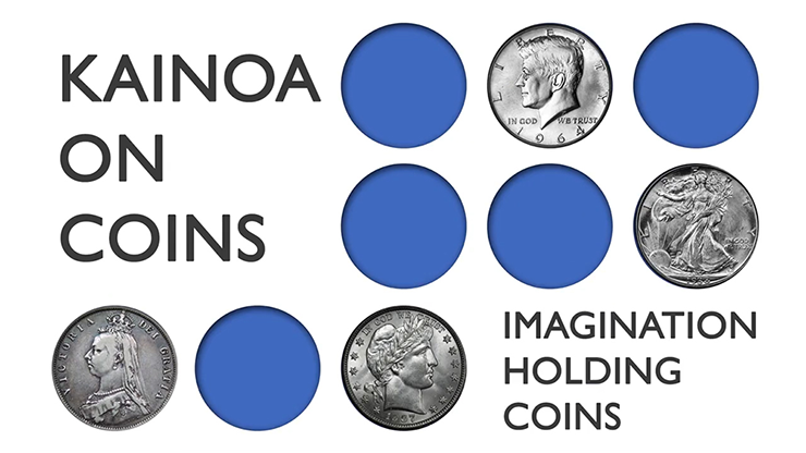 KAINOA ON COINS--IMAGINATION HOLDING COINS