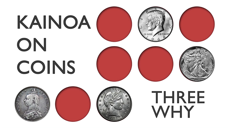KAINOA ON COINS--THREE WHY