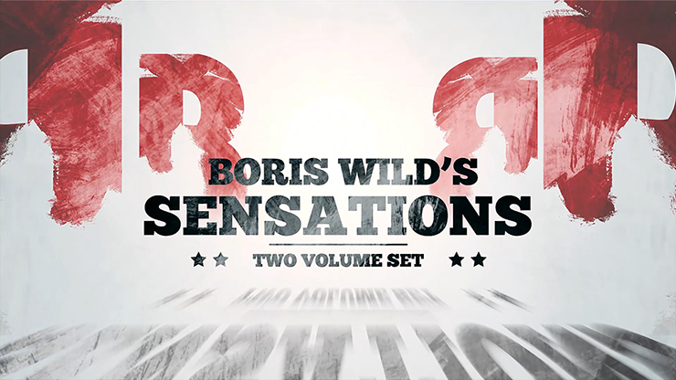 BORIS WILD'S SENSATIONS--2 DVD SET