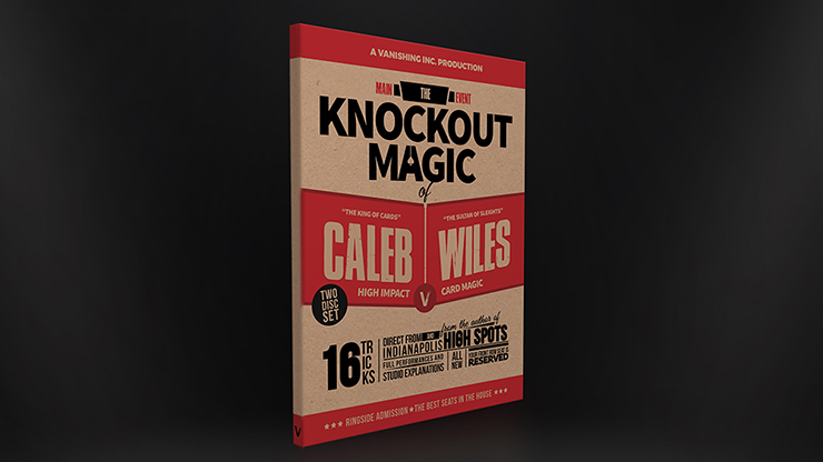 MAIN EVEN - THE KNOCKOUT MAGIC OF CALEB WILES--2 DVD SET