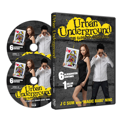 URBAN UNDERGROUND--2 DVD SET
