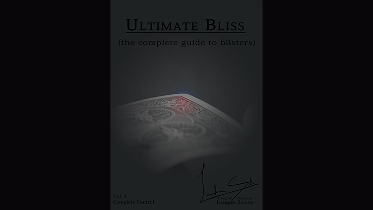 ULTIMATE BLISS--THE COMPLETE GUIDE TO BLISTERS (CARD PUNCH)