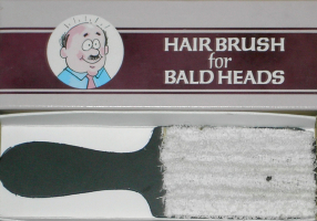 HAIR BRUSH FOR BALD HEADS