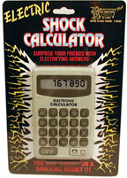 SHOCKING CALCULATOR