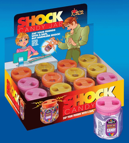 SHOCK CANDY JAR