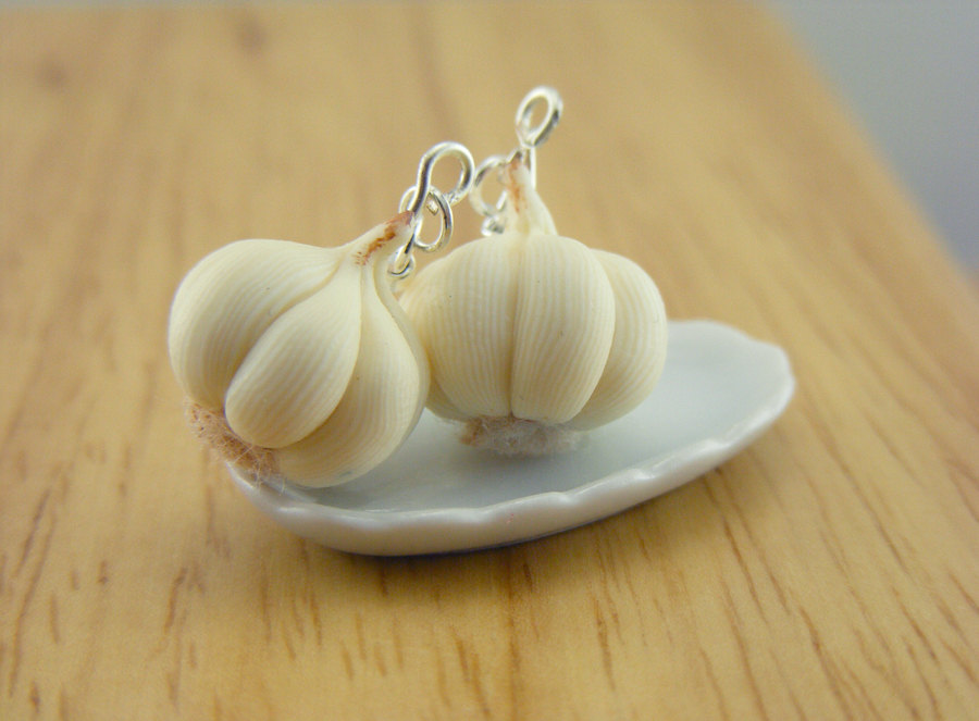 GARLIC EARRINGS