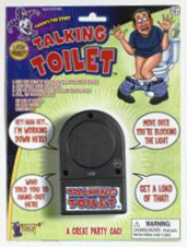 TALKING TOILET