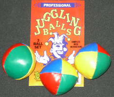 JUGGLING BALLS, BEAN BAG--JUNIOR