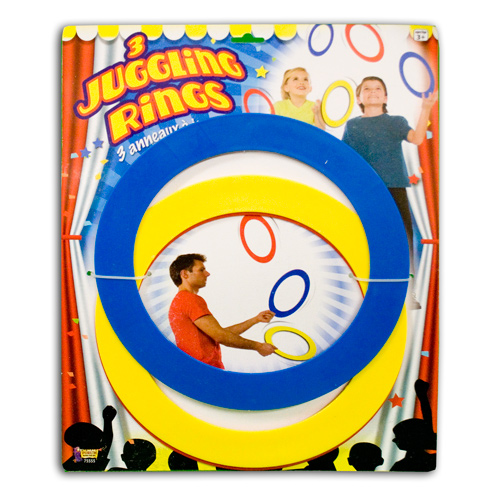 JUGGLING RING SET--ECONOMY