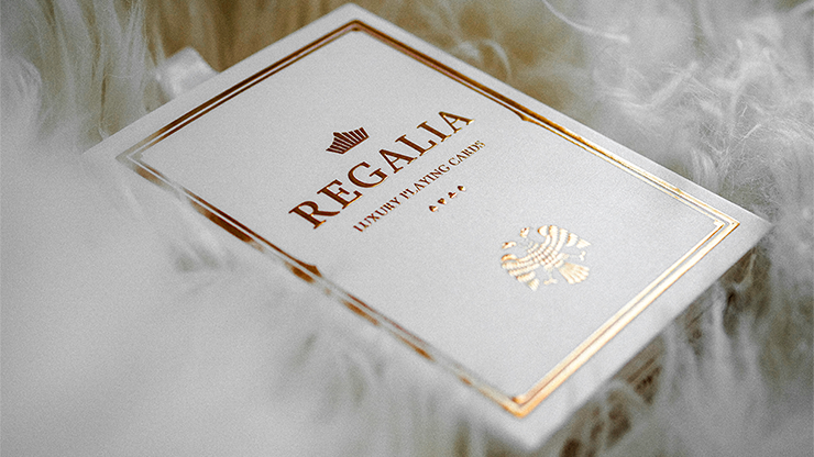 PLAYING CARDS--REGALIA, WHITE