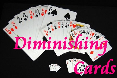 ULTIMATE DIMINISHING CARDS W/DVD