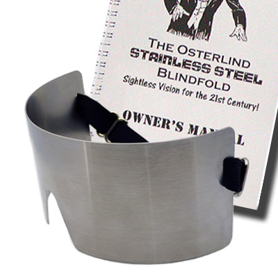 OSTERLIND STAINLESS STEEL BLINDFOLD