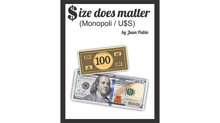 SIZE DOES MATTER--MONOPOLY