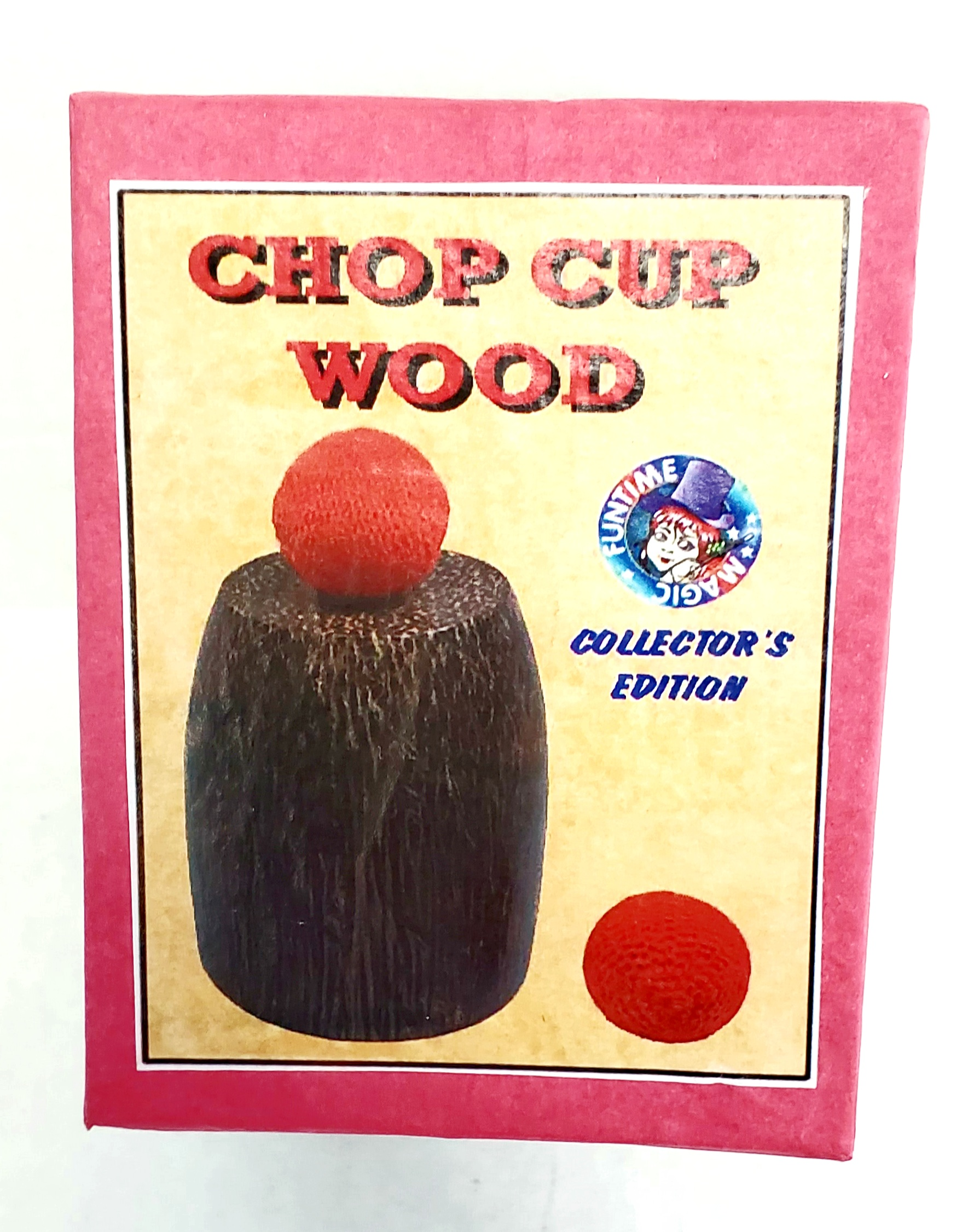 CHOP CUP--WOODEN, DELUXE