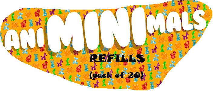REFILLS FOR ANIMINIMALS (PACK OF 20)