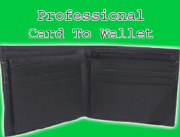 CARD TO WALLET--PROFESSIONAL
