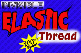 INVISIBLE THREAD--ELASTIC