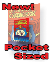 COLORING BOOK--POCKET SIZED