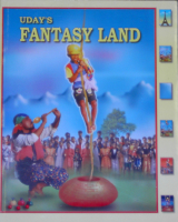 COLORING BOOK--FANTASY LAND