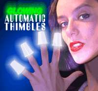 AUTOMATIC THIMBLES--WHITE