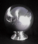 ZOMBIE BALL--LARGE SILVER
