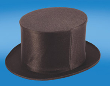TOP HAT--FOLDING SILK