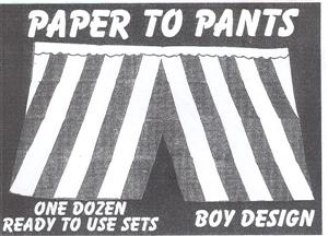 PAPER TO PANTS
