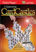3 APPEARING CARD CASTLES FROM PAPER BAG