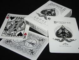 PLAYING CARDS--BICYCLE GHOST DECK