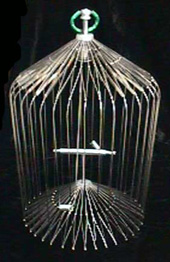 APPEARING BIRD CAGE--18""