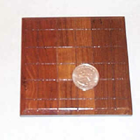 PANEL BOARD PENETRATION--25 CENT SIZE