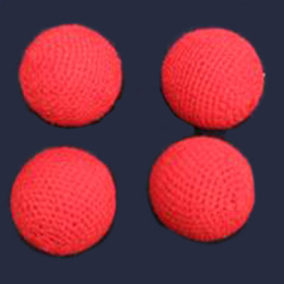 CROCHETED BALLS--1""