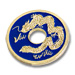 CHINESE COIN--BLUE