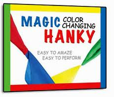 COLOR CHANGING HANKIES