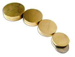 NESTED COIN BOX--BRASS