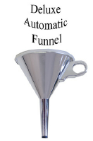 AUTOMATIC FUNNEL--CHROME